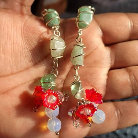 Cacti Cuties - Wire Wrapped Earrings
